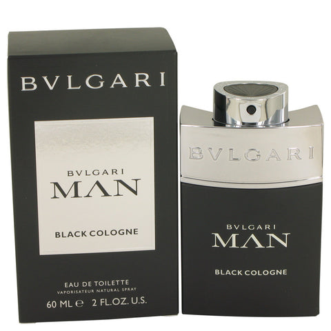 Eau De Toilette Spray 2 oz, Bvlgari Man Black Cologne by Bvlgari