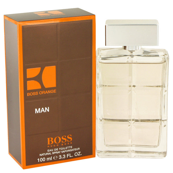 Eau De Toilette Spray 3.4 oz, Boss Orange by Hugo Boss