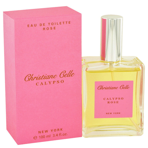 Eau De Toilette Spray 3.4 oz, Calypso Rose by Calypso Christiane Celle