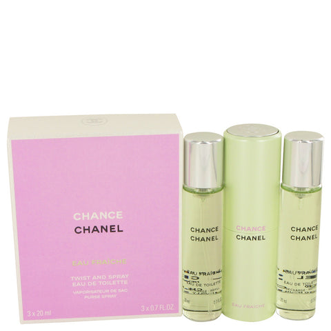 Mini Eau Fraiche Spray + 2 Refills 3 x.7 oz, Chance by Chanel