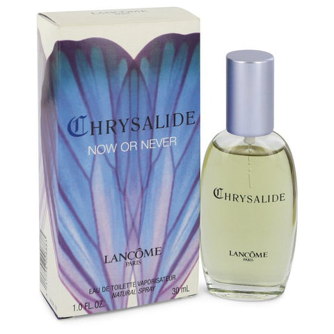 Chrysalide Now Or Never by Lancome for Women. Eau De Toilette Spray 1 oz