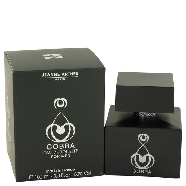 Eau De Toilette Spray 3.3 oz, Cobra by Jeanne Arthes