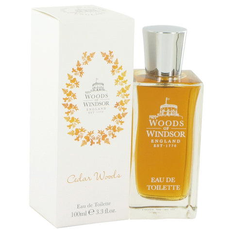 Eau De Toilette Spray 3.4 oz, Cedar Woods by Woods of Windsor