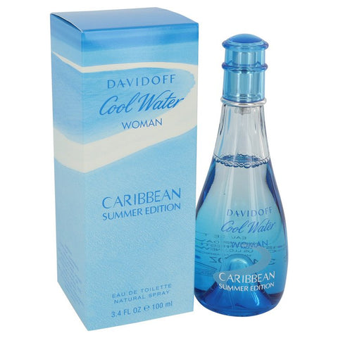 Cool Water Caribbean Summer by Davidoff for Women. Eau De Toilette Spray 3.4 oz