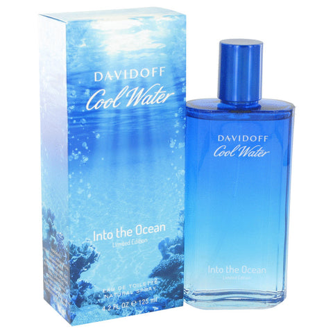 Eau De Toilette Spray 4.2 oz, Cool Water Into The Ocean by Davidoff