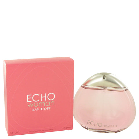 Eau De Parfum Spray 3.4 oz, Echo by Davidoff