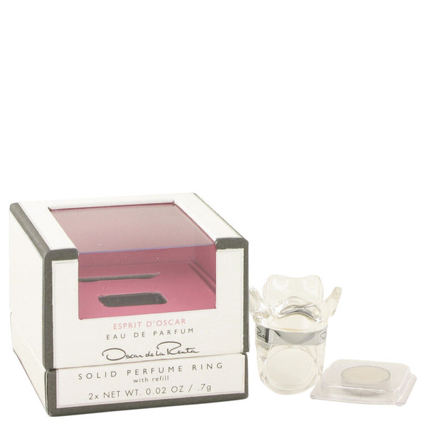 Solid Perfume Ring with Refill .02 oz, Esprit d`Oscar by Oscar De La Renta
