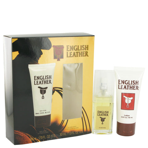 Gift Set (1 oz Cologne Spray + 2 oz Body Lotion), ENGLISH LEATHER by Dana