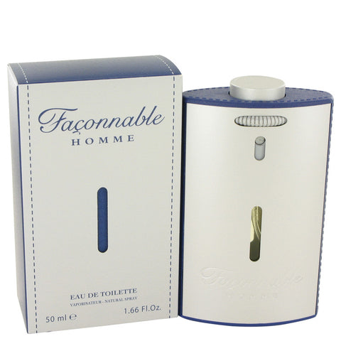 Eau De Toilette Spray 1.7 oz, Faconnable Homme (New Packaging) by Faconnable