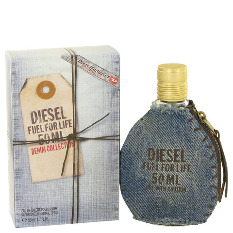 Eau De Toilette Spray 1.7 oz, Fuel For Life Denim by Diesel