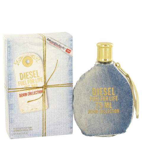 Eau De Toilette Spray 2.5 oz, Fuel For Life Denim by Diesel