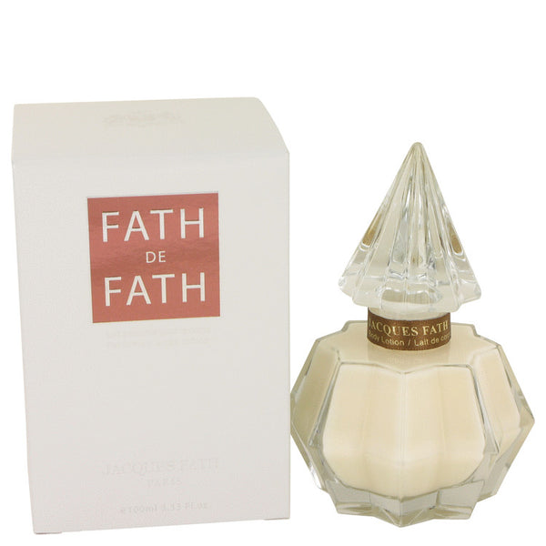Body Lotion 3.4 oz, FATH DE FATH by Jacques Fath
