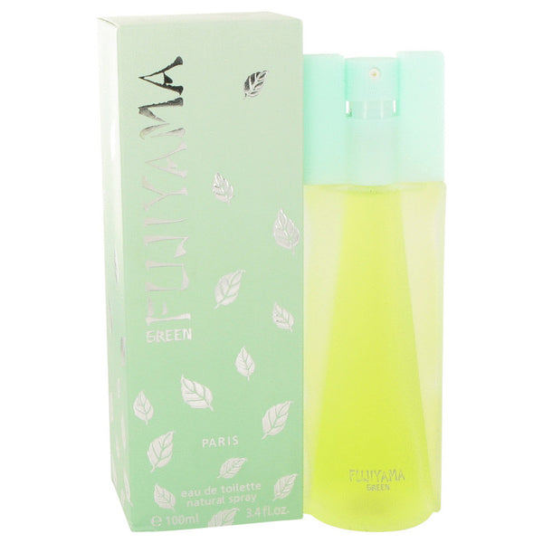 Eau De Toilette Spray 3.4 oz, FUJIYAMA GREEN by Succes de Paris