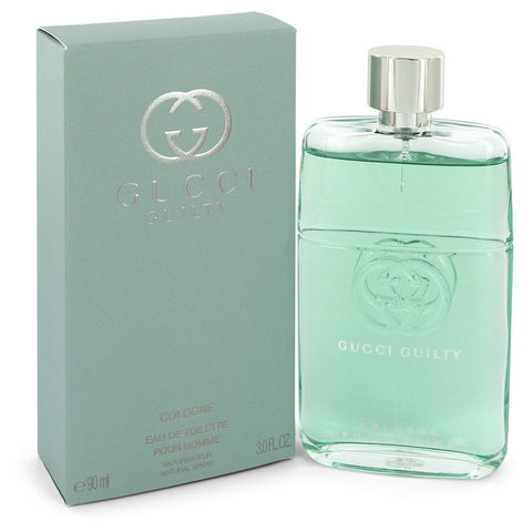 Gucci Guilty Cologne by Gucci for Men. Eau De Toilette Spray 3 oz