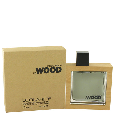 Eau De Toilette Spray 3.4 oz, He Wood by Dsquared2