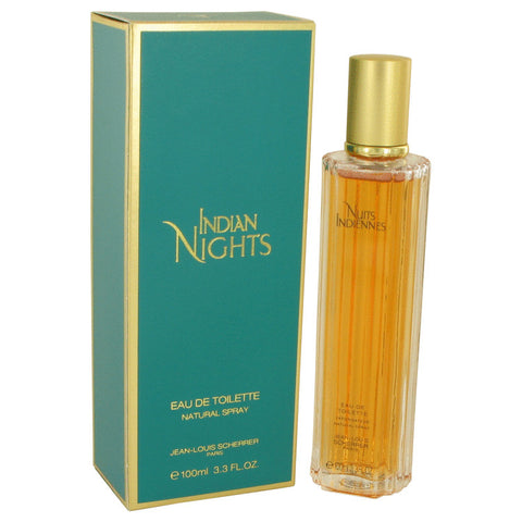 Eau De Toilette Spray 3.3 oz, INDIAN NIGHTS by Jean Louis Scherrer