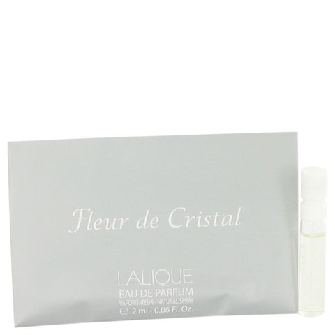 Vial (sample) .06 oz, Lalique Fleur De Cristal by Lalique