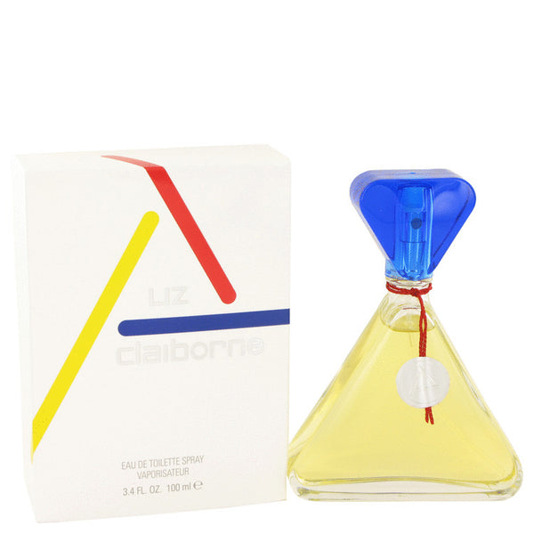 Eau De Toilette Spray (Glass Bottle) 3.4 oz, CLAIBORNE by Liz Claiborne