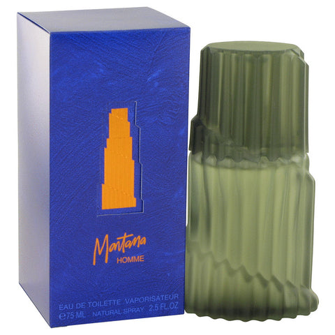 Eau De Toilette Spray (Blue Original Box) 2.5 oz, MONTANA by Montana