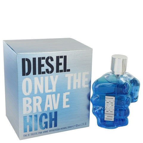 Only The Brave High by Diesel for Men. Eau De Toilette Spray 4.2 oz