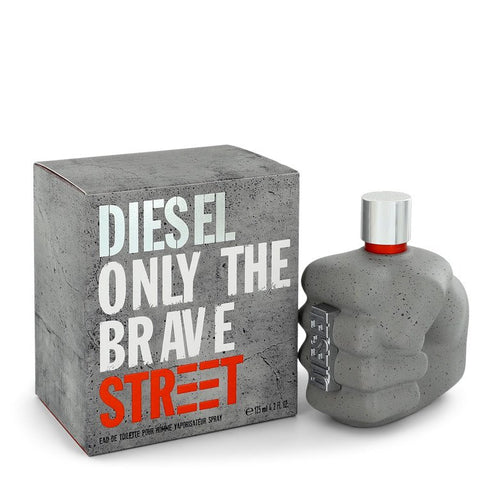 Only The Brave Street by Diesel for Men. Eau De Toilette Spray 4.2 oz