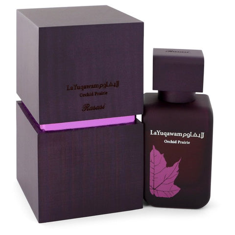 Rasasi La Yuqawam Orchid Prairie by Rasasi for Women. Eau De Parfum Spray 2.5 oz