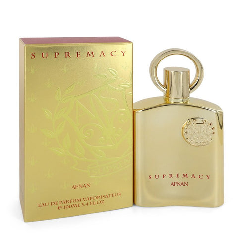 Supremacy Gold by Afnan for Men. Eau De Parfum Spray (Unisex) 3.4 oz