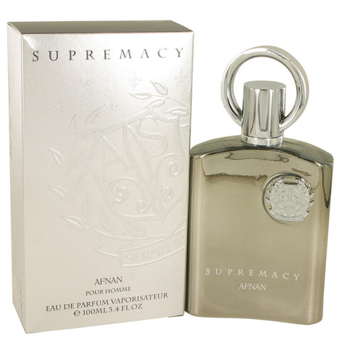 Supremacy Silver by Afnan for Men. Eau De Parfum Spray 3.4 oz