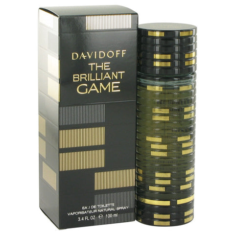 Eau De Toilette Spray 3.4 oz, The Brilliant Game by Davidoff