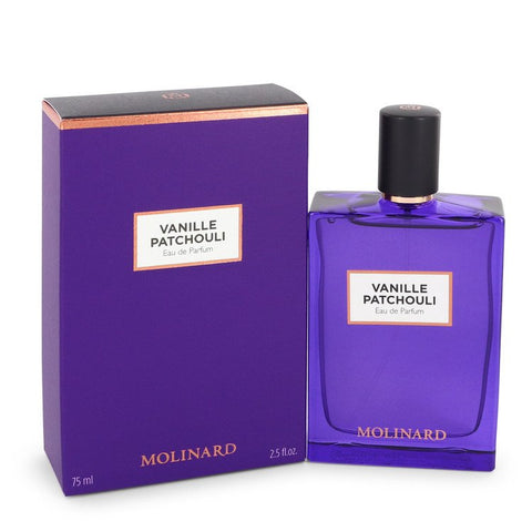 Vanille Patchouli by Molinard for Women. Eau De Parfum Spray (New Packaging) 2.5 oz