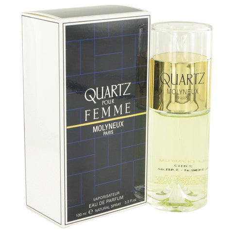 Eau De Parfum Spray 3.4 oz, QUARTZ by Molyneux