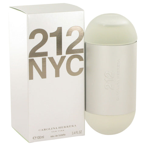 Eau De Toilette Spray (New Packaging) 3.4 oz, 212 by Carolina Herrera
