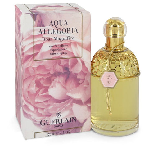 Aqua Allegoria Rosa Magnifica by Guerlain for Women. Eau De Toilette Spray 4.2 oz