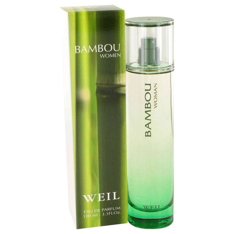 Eau De Parfum Spray 3.4 oz, BAMBOU by Weil