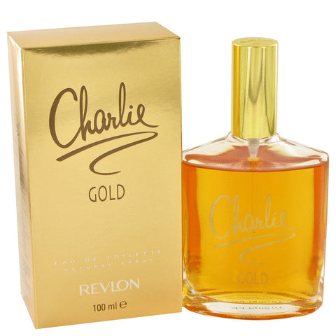 Eau De Toilette Spray 3.3 oz, CHARLIE GOLD by Revlon