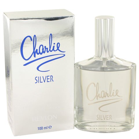 Eau De Toilette Spray 3.4 oz, CHARLIE SILVER by Revlon