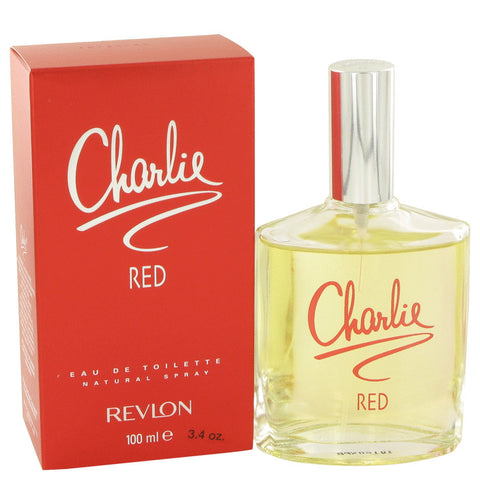 Eau De Toilette Spray 3.3 oz, CHARLIE RED by Revlon