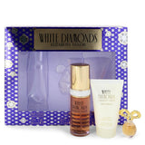 White Diamonds by Elizabeth Taylor for Women. Gift Set - 1 oz Eau De Toilette Spray + .12 oz Min EDP + 1.7 oz Body Lotion --