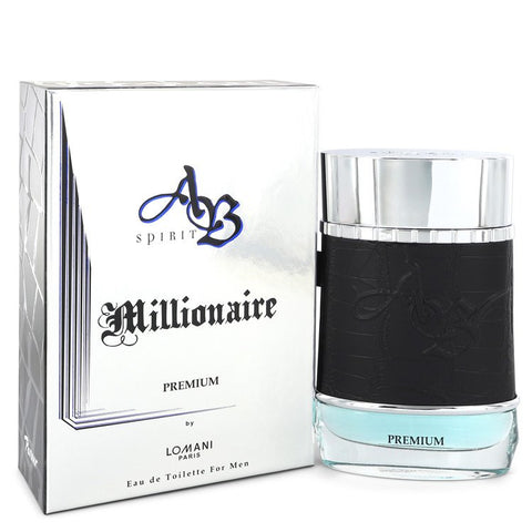 Ab Spirit Millionaire Premium by Lomani for Men. Eau De Toilette Spray 3.3 oz