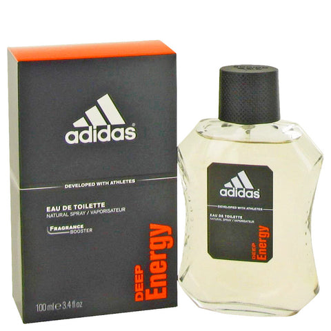 Eau De Toilette Spray 3.4 oz, Adidas Deep Energy by Adidas