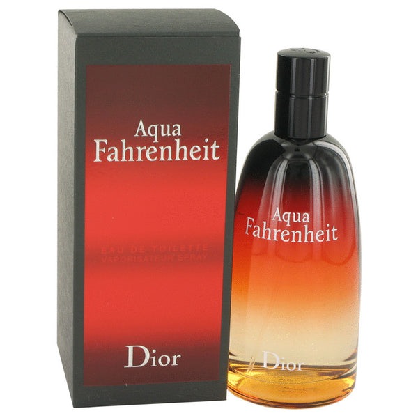 Eau De Toilette Spray 4.2 oz, Aqua Fahrenheit by Christian Dior