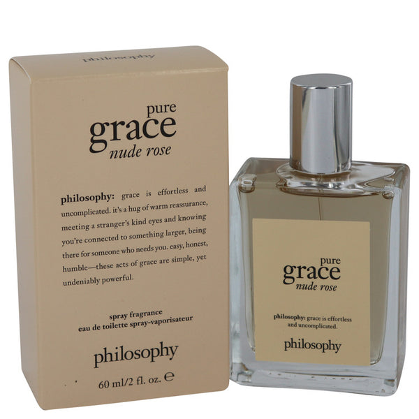 Eau De Toilette Spray 2 oz, Amazing Grace Nude Rose by Philosophy