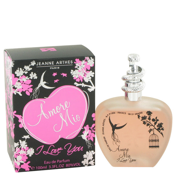 Eau De Parfum Spray 3.4 oz, Amore Mio I Love You by Jeanne Arthes