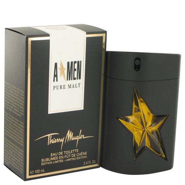 Eau De Toilette Spray (Limited Edition) 3.4 oz, Angel Pure Malt by Thierry Mugler