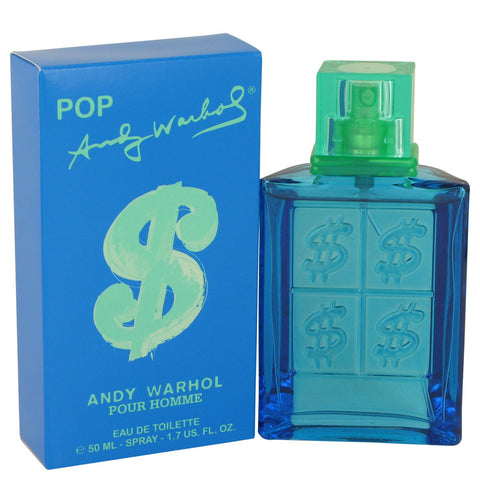 Eau De Toilette Spray 1.7 oz, Andy Warhol Pop by Andy Warhol