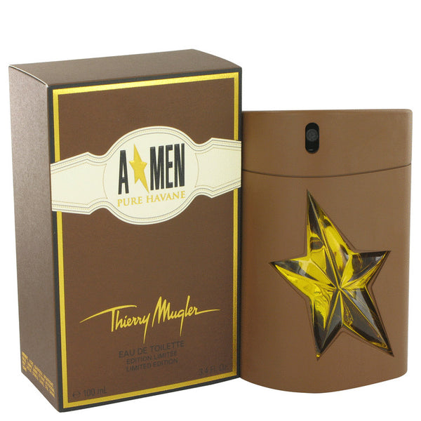 Eau De Toilette Spray 3.4 oz, Angel Pure Havane by Thierry Mugler