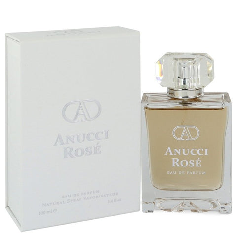 Anucci Rose by Anucci for Women. Eau De Parfum Spray 3.4 oz