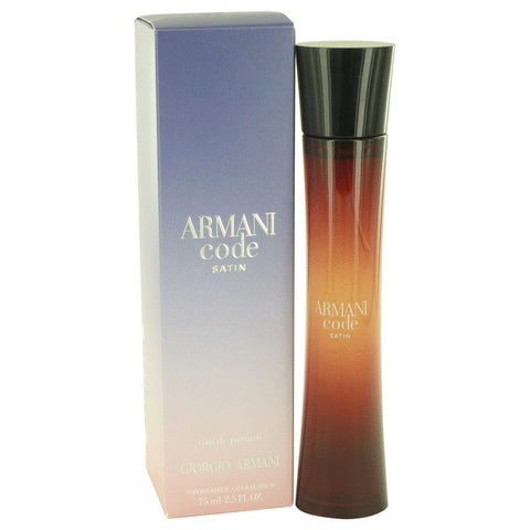 Eau De Parfum Spray 2.5 oz, Armani Code Satin by Giorgio Armani
