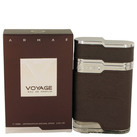 Eau De Parfum Spray 3.4 oz, Armaf Voyage Brown by Armaf