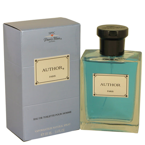 Eau De Toilette Spray 3.4 oz, Author Paris Bleu by Paris Bleu